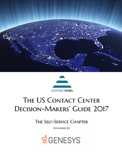 ContactBabel: The US Contact Center Decision-Makers' Guide: The Self-Services Chapter: Break Through AI Misconceptions