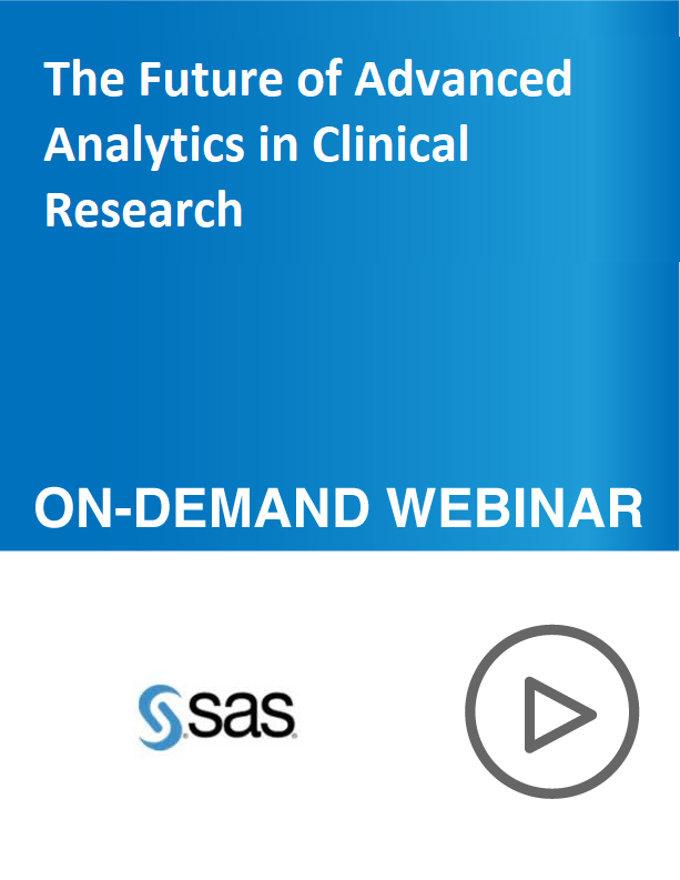 The Future of Advanced Analytics in Clinical Research
