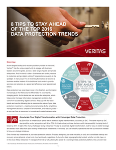 8 Tips to Stay Ahead in 2016 Data Protection Trends
