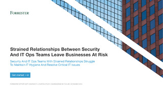 Strained Relationships Between Security And IT Ops Teams Leave Businesses At Risk