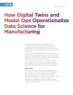 Digital Twins and Model Ops: Operationalizing Data Science for Manufacturing