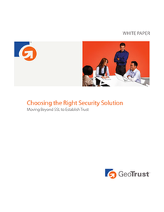 Choosing the Right Security Solution