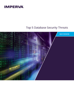 Top 5 Database Security Threats