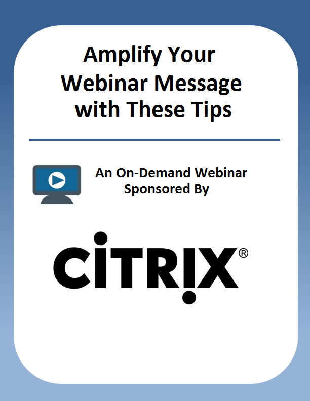 Preparing and Presenting Compelling Webinars