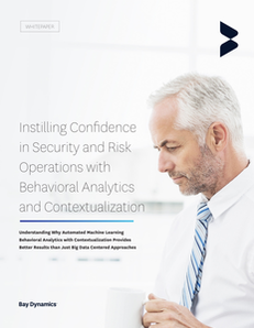Instilling Confidence in Security and Risk Operations with Behavioral Analytics and Contextualizaiton