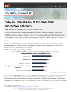 Why You Should Look at Cloud for Storing Back-up, Archive and Content Repository Data