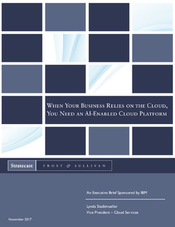When Your Business Relies On The Cloud, You Need An AI-enabled Cloud Platform