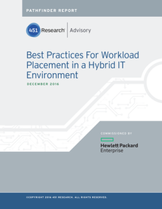 Best Practices for Workload Placement in a Hybrid IT Environment