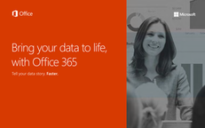 Bring Your Data to Life with Office 365