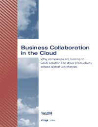 Business Collaboration in the Cloud
