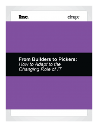 From Builders to Pickers: How to Adapt to the Changing Role of IT