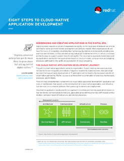 Eight Steps to Cloud-Native Application