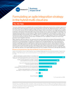 451 Research: Agile Integration Strategy in the Hybrid Multicloud Era
