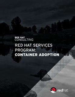 Red Hat Services Solution: Container Adoption Program