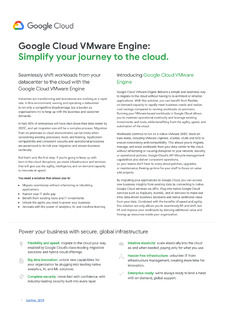 Simplify Your Journey to the Cloud