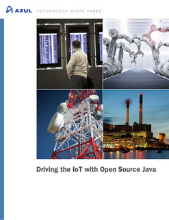 Driving the IOT Space with Open Source Java