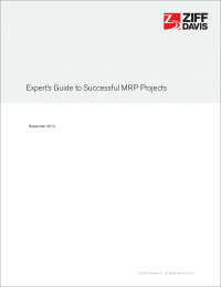 Experts Guide to Successful MRP Projects