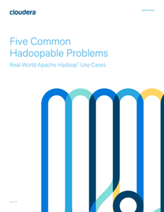 Five Common Hadoopable Problems