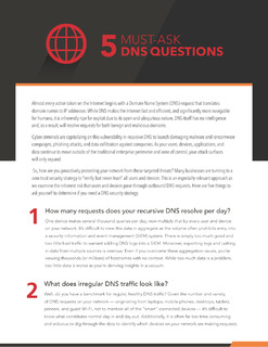 5 Must-Ask DNS Questions