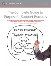 The Complete Guide to Purposeful Support Practices