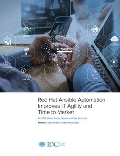 IDC: Business value of Red Hat Ansible Automation