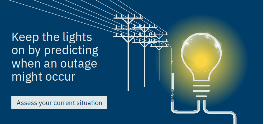 Keep the lights on by predicting when an outage might occur