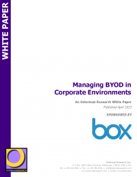 Managing BYOD in Corporate Environments