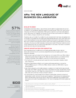 APIs and the Language of Business Collaboration