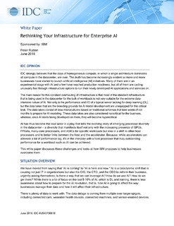 Rethinking Your Infrastructure for Enterprise AI