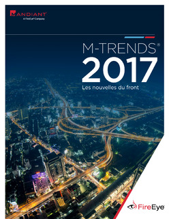 M-Trends 2017: Trends from the Year's Breaches and Cyber Attacks – France