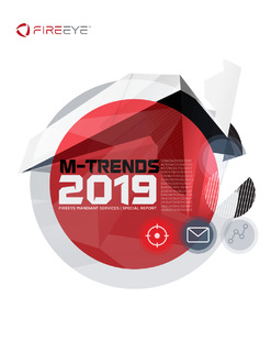 M-Trends 2019: Insights into Today's Breaches and Cyber Attacks