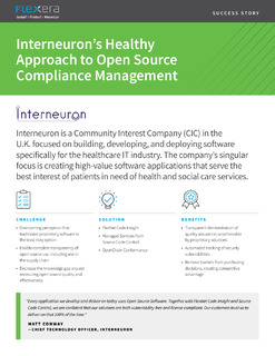 A Healthy Approach to Open Source Compliance Management – Case Study
