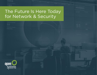 The Future Is Here Today for Network and Security
