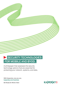 Security Technologies for Mobile and BYOD