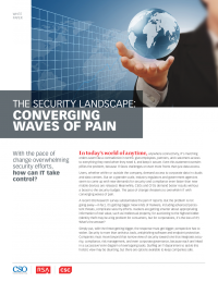 The Security Landscape: Converging Waves of Pain (IDG Research)