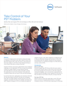 Take Control of Your PST Problem