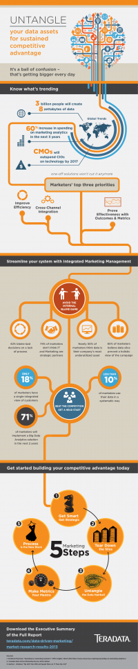 Teradata Data-Driven Marketing Survey 2013 Whitepaper