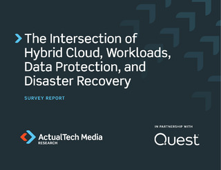The Intersection of Hybrid Cloud, Workloads, Data Protection, and Disaster Recovery