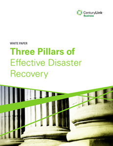 Three Pillars of Effective Disaster Recovery