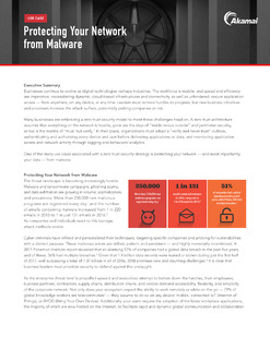 Protecting Your Network from Malware