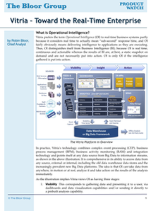 Analyst Research: Toward the Real-Time Enterprise