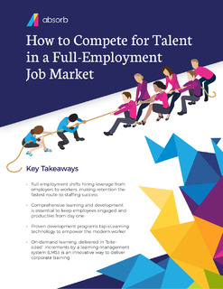 How to Compete for Talent in a Full-Employment Job Market