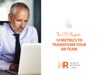 The CFO Playbook: 10 Metrics to Transform Your HR Team
