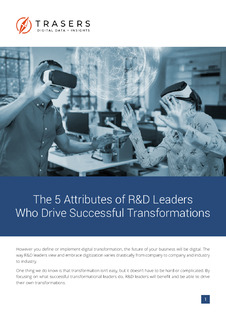 The 5 Attributes of R&D Leaders Who Drive Digital Transformations