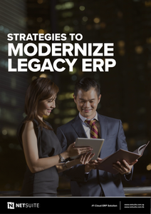 Strategies to Modernize Legacy ERP