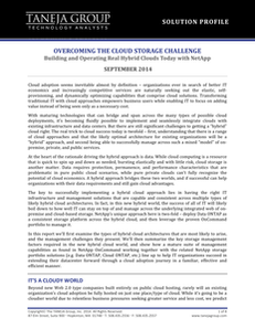 Overcoming the Cloud Storage Challenge: Building and Operating Real Hybrid Clouds Today with NetApp