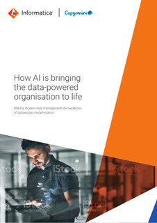 How AI is bringing the data-powered organization to life