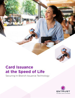 Card Issuance at the Speed of Life