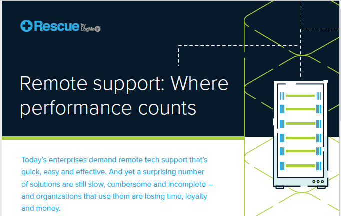 Remote Support: Where Performance Counts