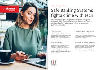 Safe Banking Systems Fights Crime With Tech